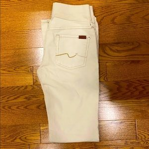 Maternity Corderoy Pants 7 for all Mankind